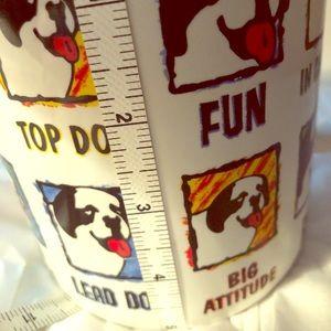 Coffee Mug BIG DOGS brand  1997 oversized Heavy EC